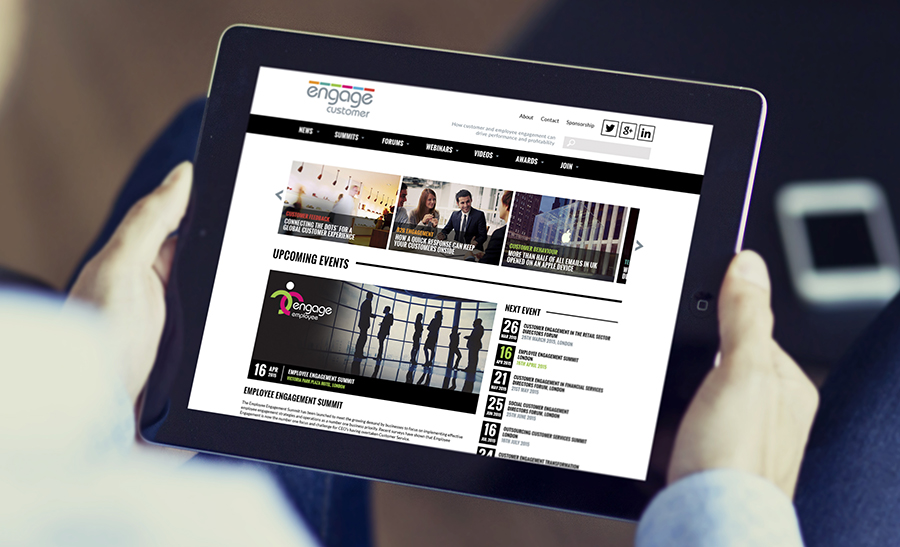 Tablet Optimised Website