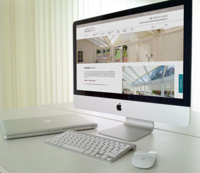 Web Design for Conservatory Blinds